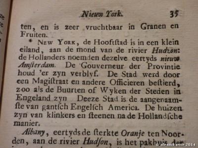 Beknopte Beschryving Der Engelsche en Fransche Bezittingen, 1755, Nieuw York